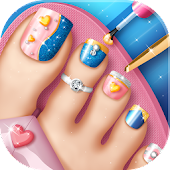 Toe Nail Salon Game