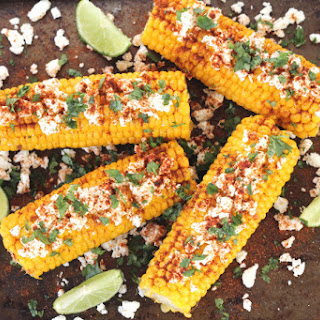 Mexican Corn On Cob Cheese And Chili Powder Recipes