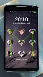 Lock screen photo APK for Bluestacks