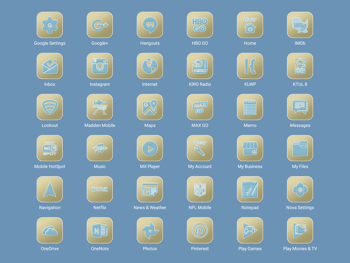 Pastel Collection 6 Icon Pack Screenshot 11