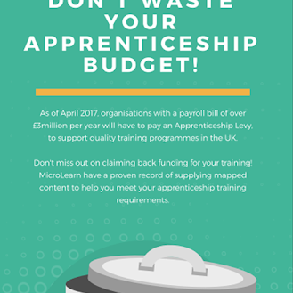 Don't waste your apprenticeship budget