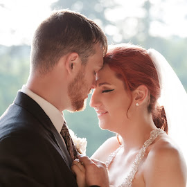 by Leann Smith - Wedding Bride & Groom