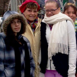 All wrapped on a cold day! by Terry Linton - People Family