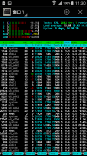 htop - screenshot