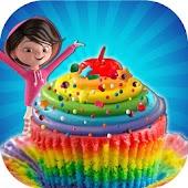 Game DIY Rainbow Cupcakes Maker APK for Windows Phone