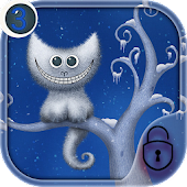 App cheshire cat smile night theme APK for Windows Phone