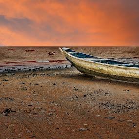 by Stephen Hooton - Transportation Boats ( gambia )