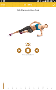 Belly Fat 7 Minute Fit Workout - screenshot