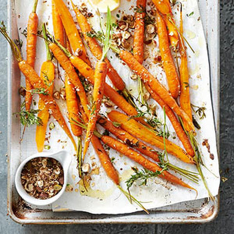 Spice & Honey Roasted Carrots