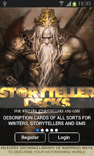 Storyteller Decks - screenshot
