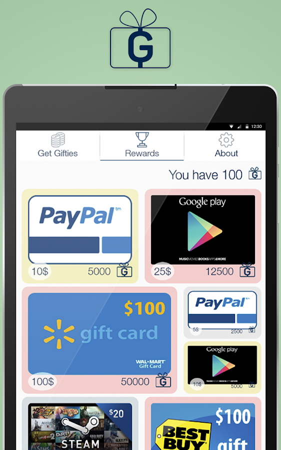 Gifties - Gift Cards & Rewards Screenshot 6
