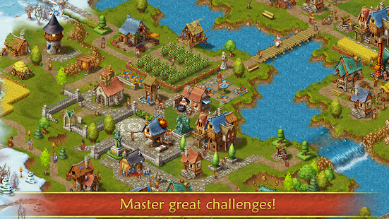 Townsmen APK for Bluestacks