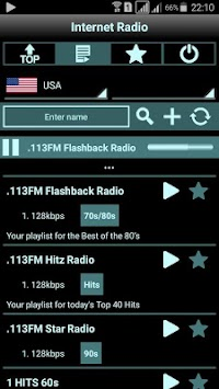 Radio Online APK screenshot thumbnail 2