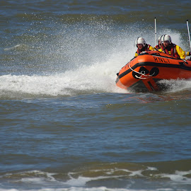 Fast Rescue. by Simon Matthews - Transportation Boats ( help, save, speed, emergency, rescue, power, boat )