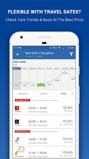 Goibibo - Flight Hotel Bus Car IRCTC Booking App screenshot 5