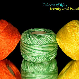 colours by SANGEETA MENA  - Typography Quotes & Sentences