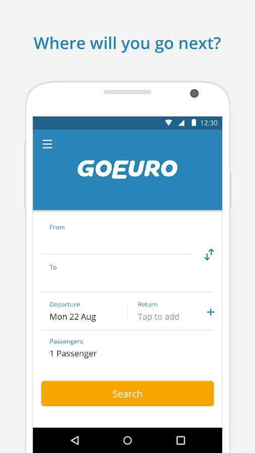 GoEuro: trains, buses, flights Screenshot 4