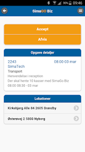 SimaGo Biz - screenshot