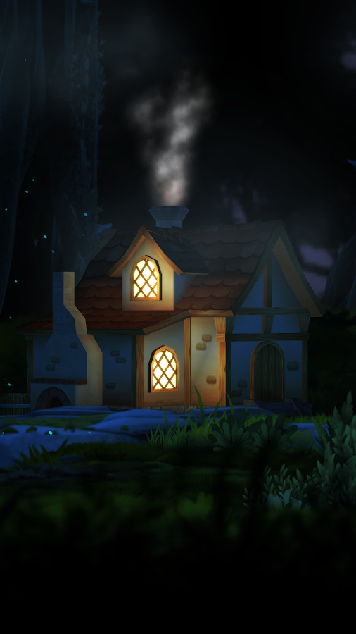 3D Forest House Full LWP Screenshot