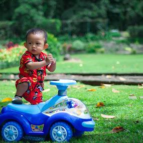 Kungfu Kid by Ratian Wahyudi - Babies & Children Child Portraits