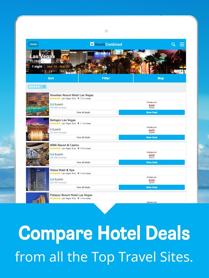 Hotels Combined: Search & Book Screenshot 7