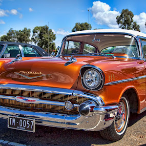 57 Chev by Peter Cannon - Transportation Automobiles ( car, canon, automobile, auto, transportation, classic )