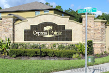 Entrance to Cypress Pointe