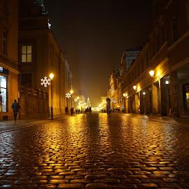 by Samet Karagöz - City,  Street & Park  Night
