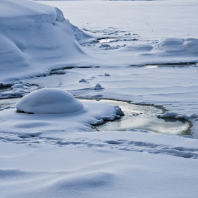 Water and ice by Shashank Shekhar - Landscapes Weather