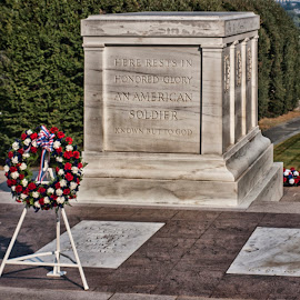 Tomb of the Unknown Soldier by Joe Saladino - City,  Street & Park  Cemeteries ( tomb, cemetery, monument, national cemetery )