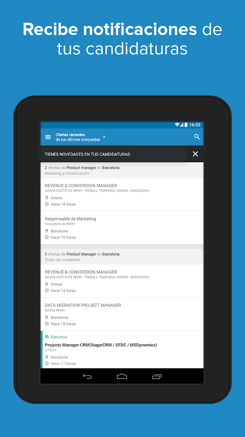 InfoJobs - Job Search Screenshot 13