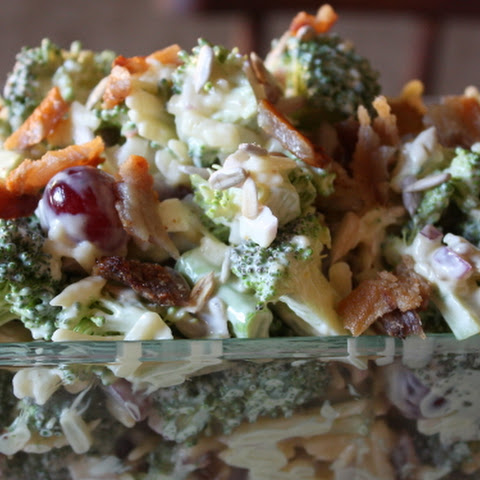 Whittney's Broccoli Grape Slaw