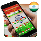 Elegant Indian Flag Launcher APK for Bluestacks