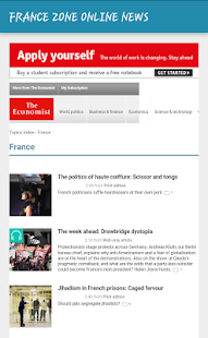 FRANCE ZONE ONLINE NEWS - screenshot
