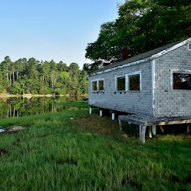 Maine Camp by Joe Fazio - Buildings & Architecture Decaying & Abandoned