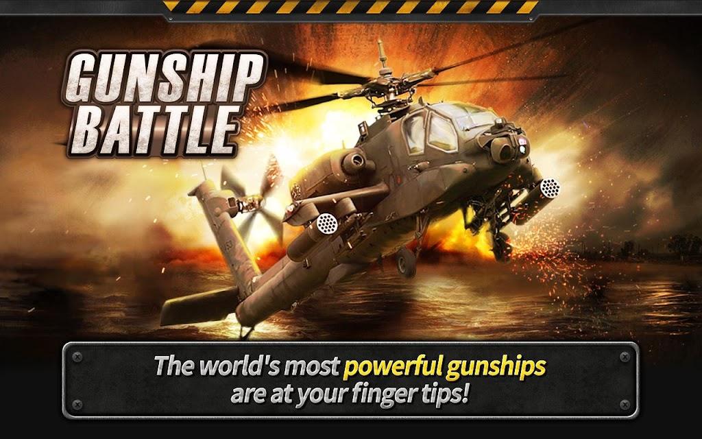 GUNSHIP BATTLE : Helicopter 3D screenshots