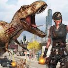 Dinosaur Hunting 2017: City Attack Survival Game 1.0