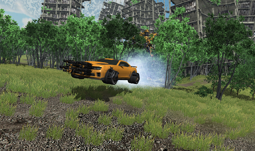 Cyborg Robot car X Ray chase For PC
