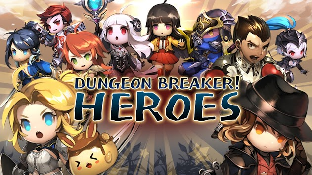 It broke through the dungeon! Heroes: left-type action rpg apk screenshot