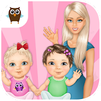 Sweet Baby Girl Twin Sisters For PC (Windows And Mac)