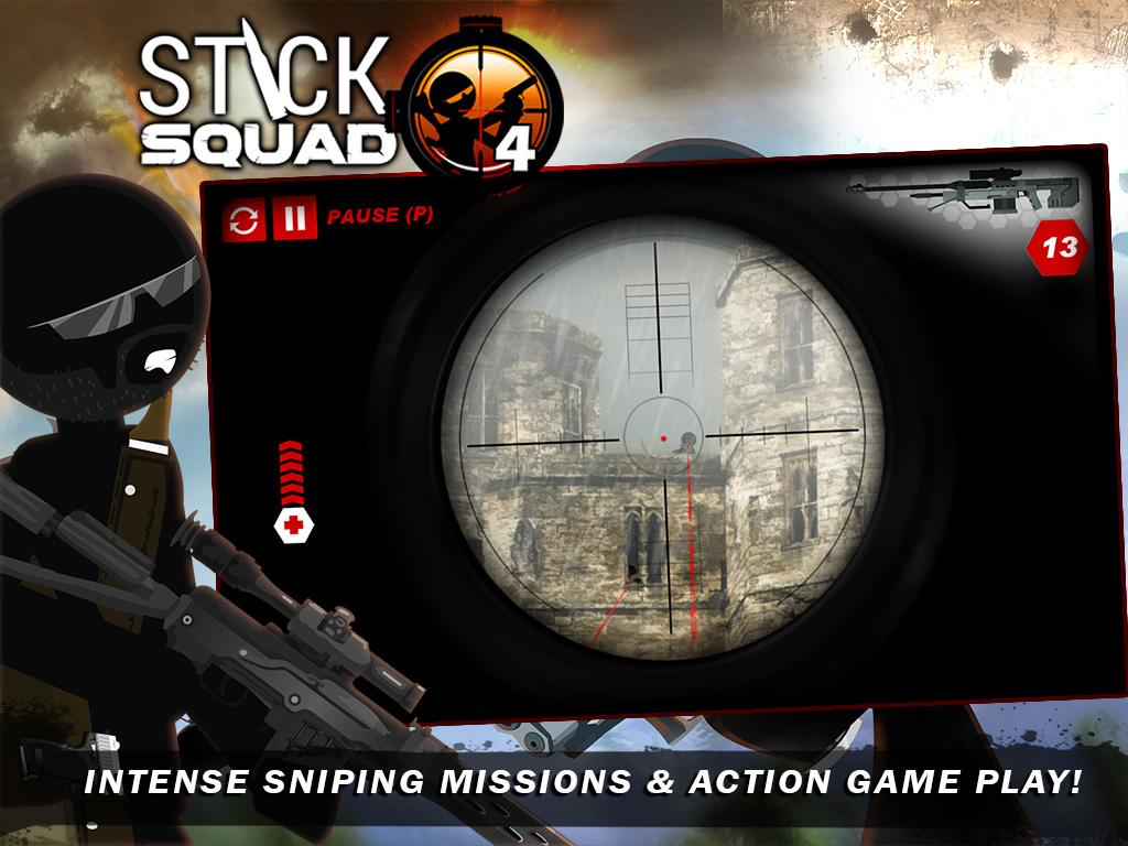 Stick Squad 4 - Sniper's Eye Screenshot 6