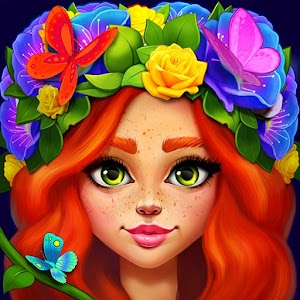 Butterfly Garden Mystery: Scapes Match 3 Story For PC (Windows & MAC)