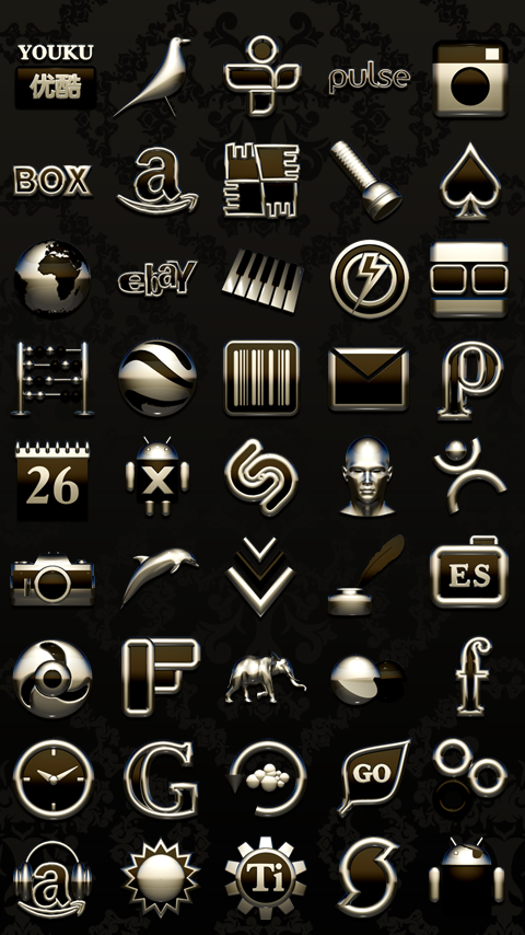 NERO Next Launcher 3D Theme Screenshot 3