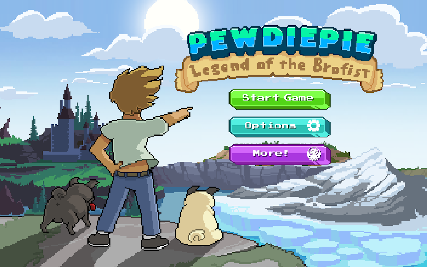 PewDiePie: Legend of Brofist Screenshot 5
