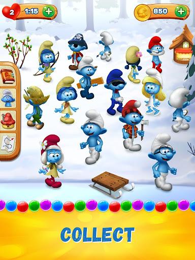 Smurfs Bubble Shooter Story screenshot 9