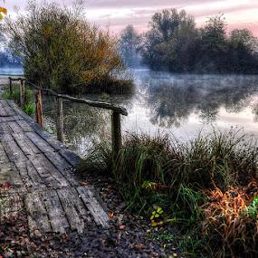 By the lake by Miro Cindrić - City,  Street & Park  City Parks