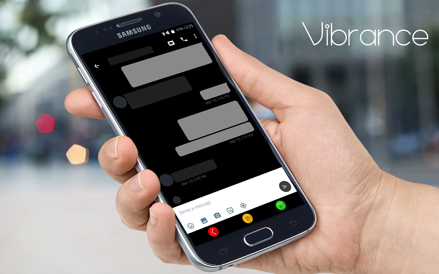 Vibrance CM13 CM12.1 DU Theme Screenshot 5