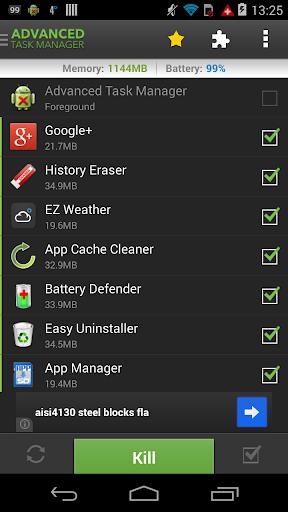 Advanced Task Manager screenshot 1