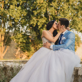B&G by Vlada Jovic - Wedding Bride & Groom ( love, lovestory, bride and groom, bride, groom, photography )