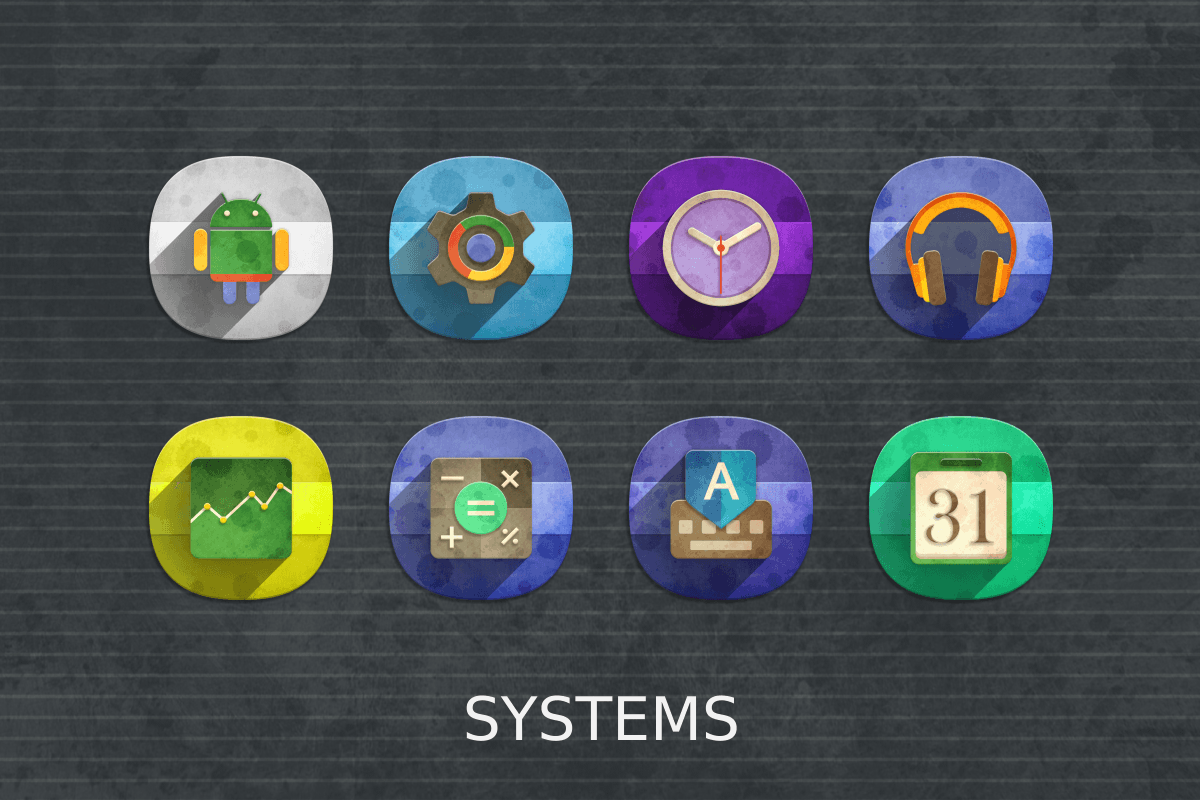 Classic Material Icon Pack Screenshot 16